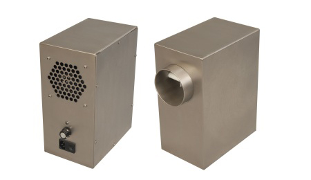 euromate elektrostatic air cleaning device, shaftless air